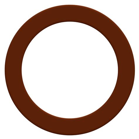 circle clip circle clipart brown pencil and in color circle clipart