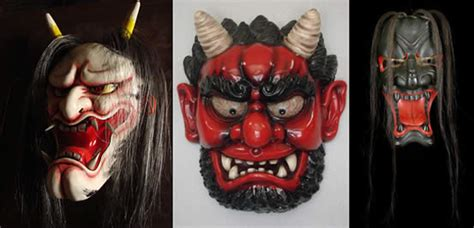 oni tattoo jepang japanese mask tattoos tattoos