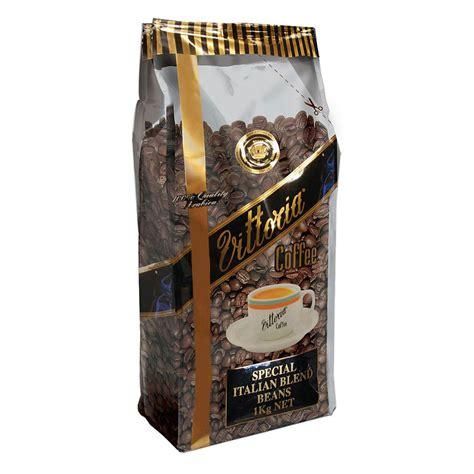 Blend Coffee Bean vittoria italian blend coffee beans 1kg cos complete office supplies