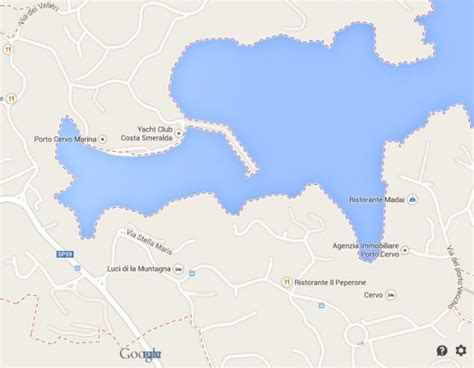 porto cervo mappa porto cervo seaside town in sardinia world easy guides