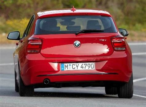 a rear view of the 2012 bmw 1 series 5 door | torque news