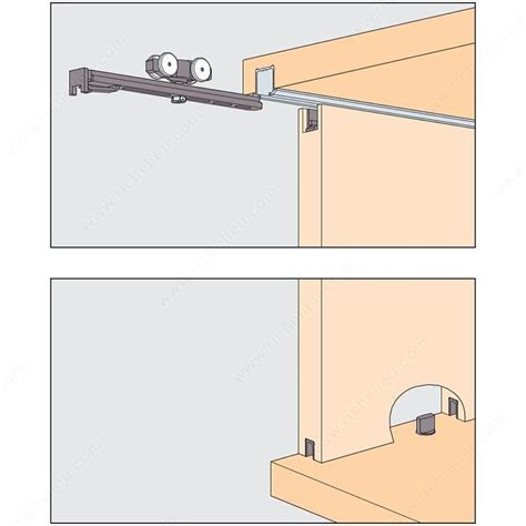 sliding cabinet door hardware eku clipo 16 hm is by pass sliding system for 2 cabinet