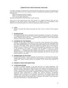 Dissertation Proposal Example Topics The Format Of Thesis Proposal Hydrochloric Acid And