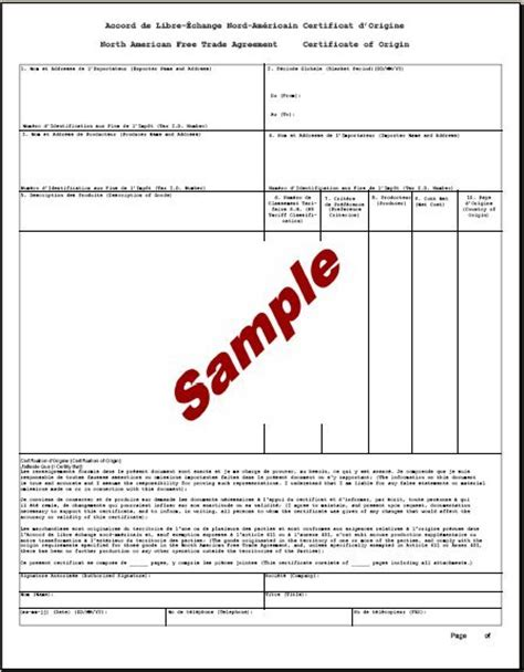 certificate of origin form template 5 certificate of origin templates excel pdf formats