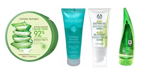 Harga Wardah Gel Lidah Buaya nature republic aloe vera 92 soothing gel product