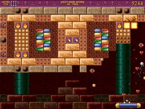download free full version pc game brickshooter egypt full bricks of egypt 2 tears of the pharaohs version for