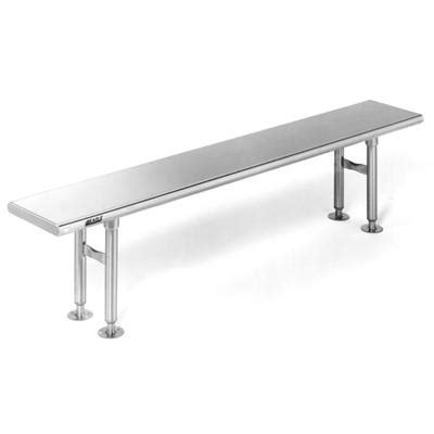 stainless steel bench top solid top electropolished gowning bench crb0972ep