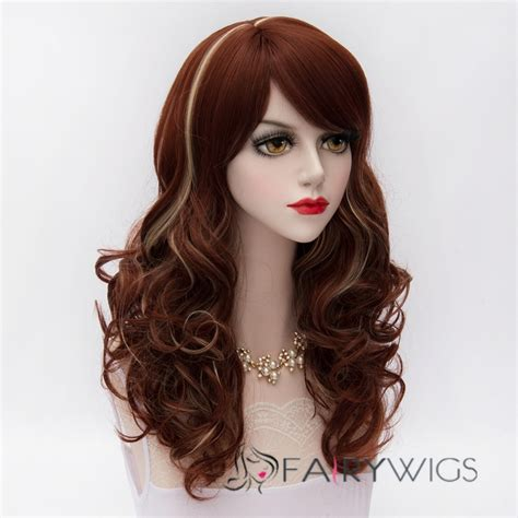 how to buy tokyo styles wigs japanese lolita style reddish brown with blonde cosplay