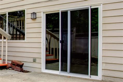 Adjust Patio Doors Sliding Glass Door Blinds Menards 100 Ashworth Patio Doors Reviews Ashworth Chestnut Brown Ch
