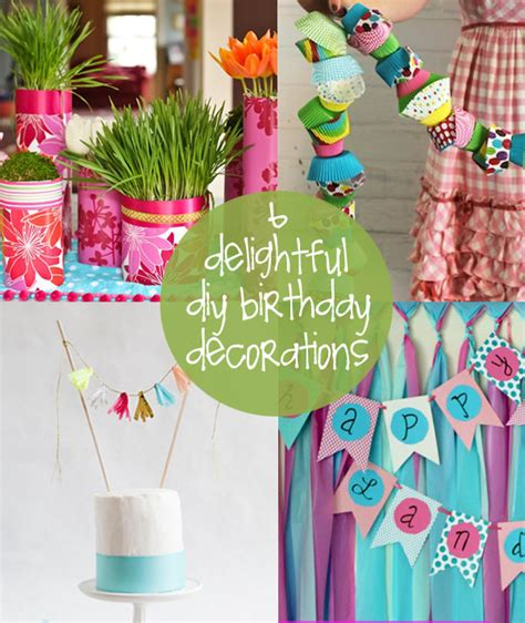 Birthday Decorations Diy by Diy Birthday Decorations Creative Gift Ideas News At