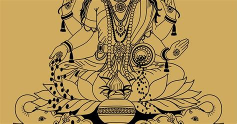 lakshmi tattoo designs lakshmi the hindu goddess of wealth prosperity fortune