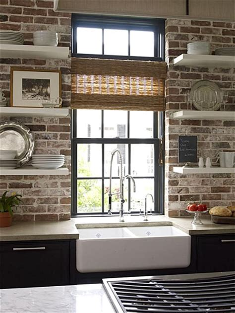 modern style meets world charm exposed brick