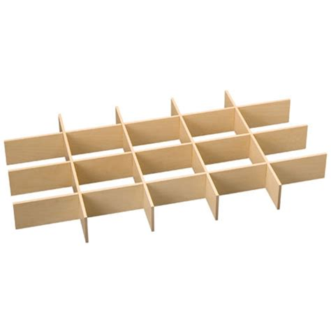 Maple Drawer Boxes by Freedomrail Big O Box Drawer Dividers Maple In