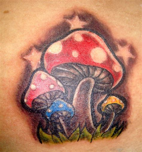mushrooms tattoo designs 9 simple tattoos