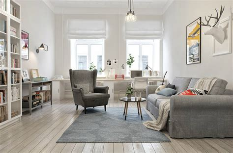 scandinavian style interior in russia decoholic