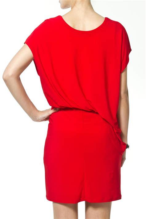 side drape dress madonna co side drape dress from upper east side by