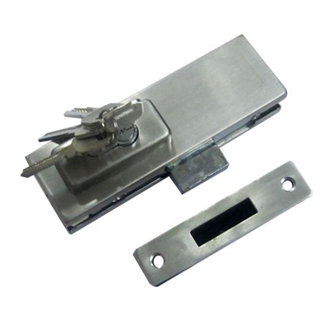 Glass Door Patch Fitting Buy Patch Fitting Lock For Glass Door Ss Finish In India Benzoville