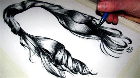 Drawing Hair by How To Draw Realistic Hair