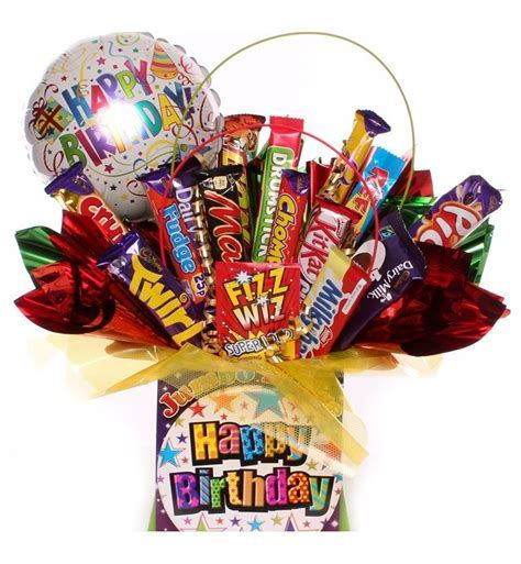 Happy Birthday Chocolate Bouquet   Chocolate Bouquet Gift