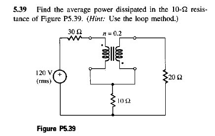 calculate the power dissipated by the resistor when the current is 016 a electrical engineering archive november 07 2014 chegg