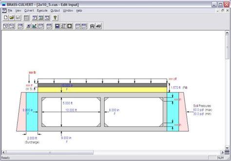 Design Criteria For Box Culvert | box culvert design software a complete box culvert model