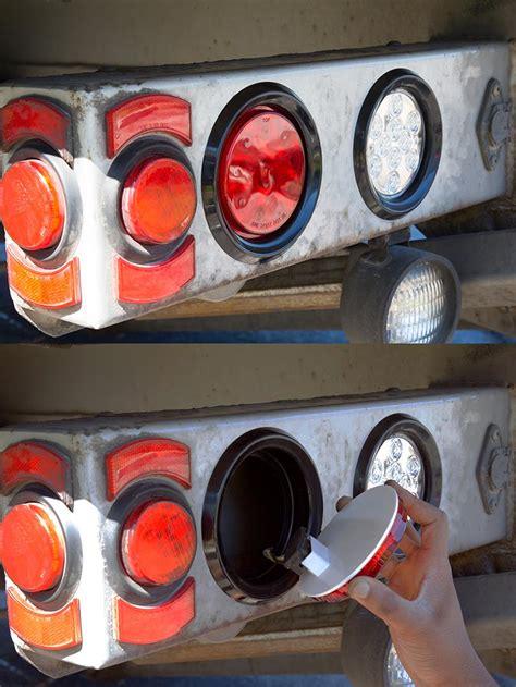 led truck and trailer lights 4 led brake turn