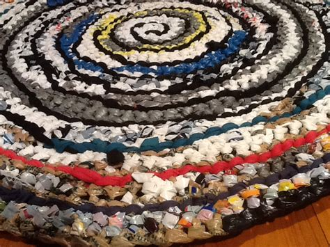 rugs from recycled materials recycled plastic rugs crochet rugs clearlyhelena