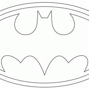 batman template free coloring pages of batman logo template