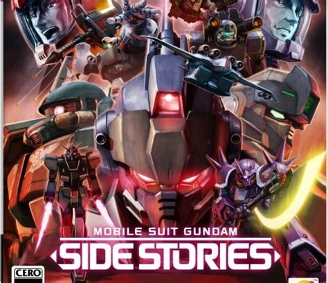 mobile suit gundam side stories mobile suit gundam side stories il ritorno su ps3