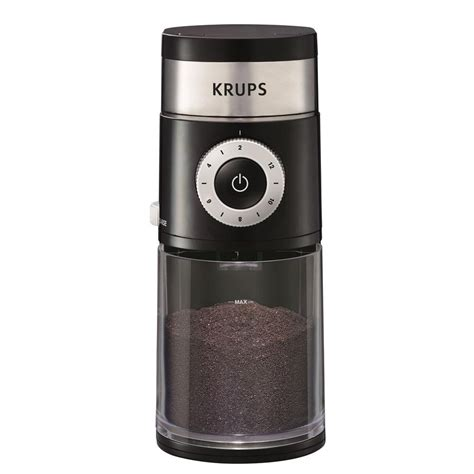 krups professional burr coffee grinder gx500050 the home