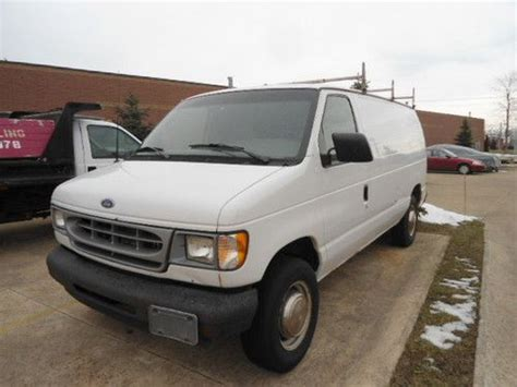 how things work cars 2002 ford econoline e250 seat position control find used 2002 ford e 250 econoline base standard cargo van 2 door 5 4l in mentor ohio united