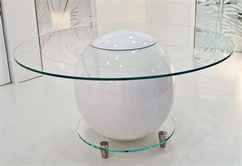 glass table top advertisement