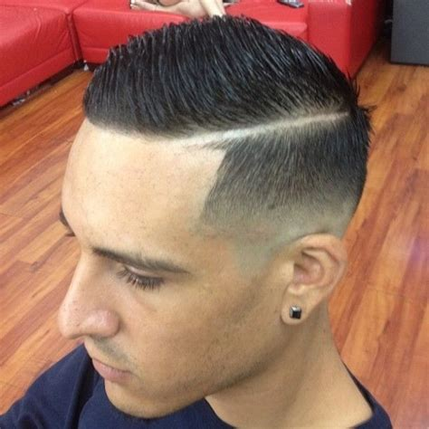 haircur men line side part razor line dress the part man pinterest