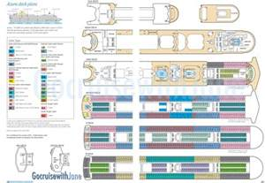 p o cruises 2012 2013 deck plans