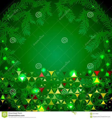 new year green happy new year green background stock vector image 34175662