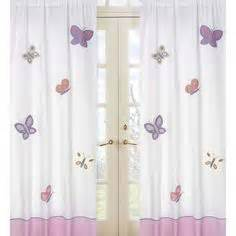 Purple Curtains For Nursery 1000 Images About Baby S Nursery On Butterfly Nursery Purple Butterfly And