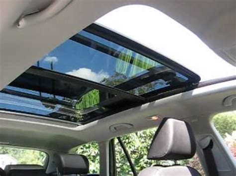 vw sportwagen tdi panoramic sunroof demonstration youtube