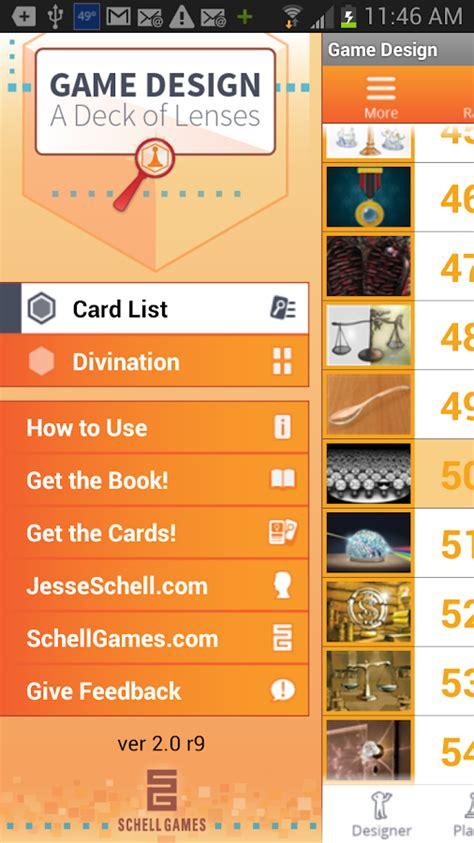 game design lenses pdf art of game design lenses android apps on google play