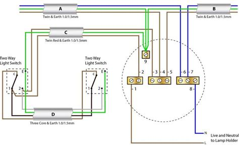 ceiling wiring diagram two way switching new