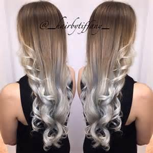 putting silver on brown hair silver hair with purple highlights dark brown hairs