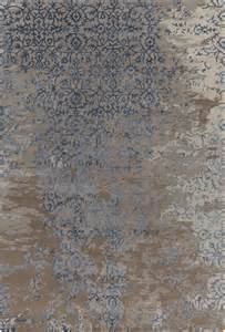 rupec collection tufted area rug in grey blue