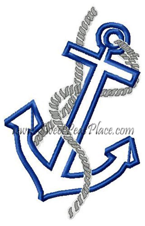 embroidery design anchor anchor applique design quotes