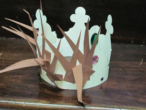 How To Make A Crown Of Thorns Out Of Paper - crown of thorns crown of project sojournkids