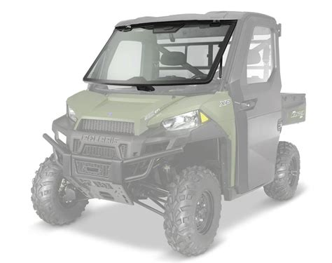 lock ride pro fit tip out glass windshield polaris
