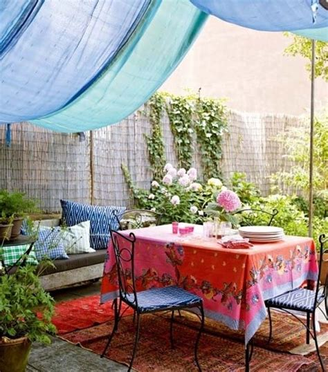 Bohemian Backyard 37 beautiful bohemian patio designs digsdigs