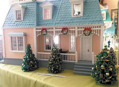 doll house museum dollhouse museum decks the halls vermont news guide