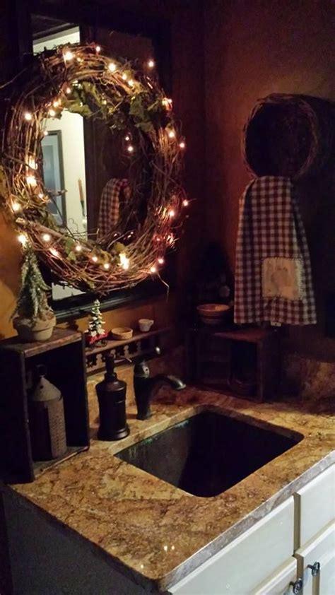 primitive bathroom mirrors primitive powder room primative powder