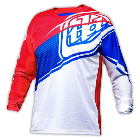 Tshirt Kaos Troy Design Tld Racing 2 2 colors new troy designs sleeve cycling jerseys tld downhill t shirts motocross jersey