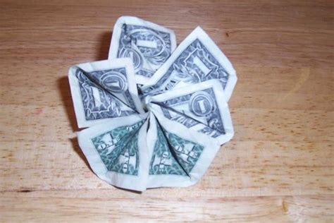 Origami Flower From Dollar Bill - money flower origami image search results
