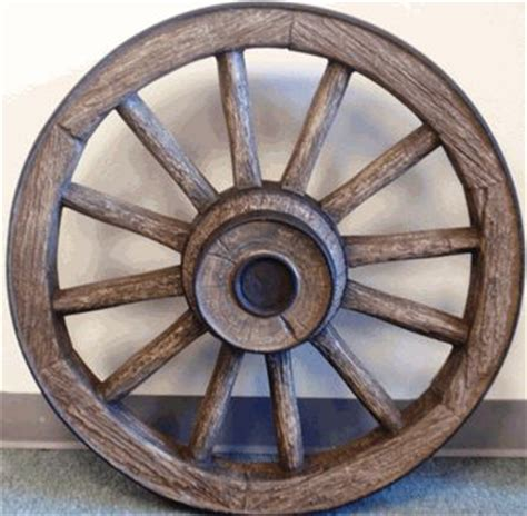 reproduction wagon wheel small western home decor